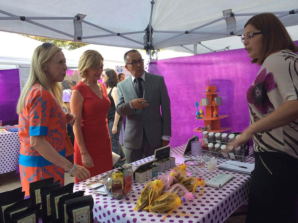 20 emprendedores en Feria Orgánica y Natural