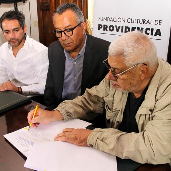 Convenio Fundación Cultural de Providencia, Stgo OFF y Fundación Sidarte