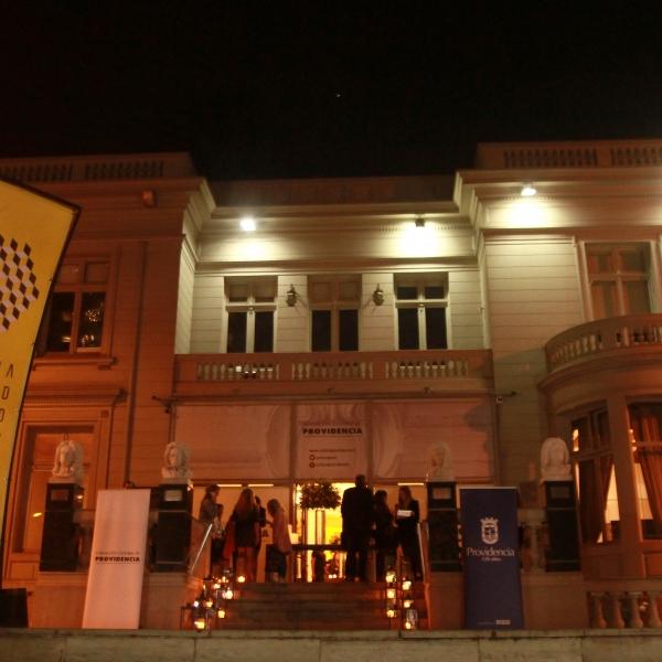 En la inauguración del Gallery Weekend realizada en la Fundación Cultural.