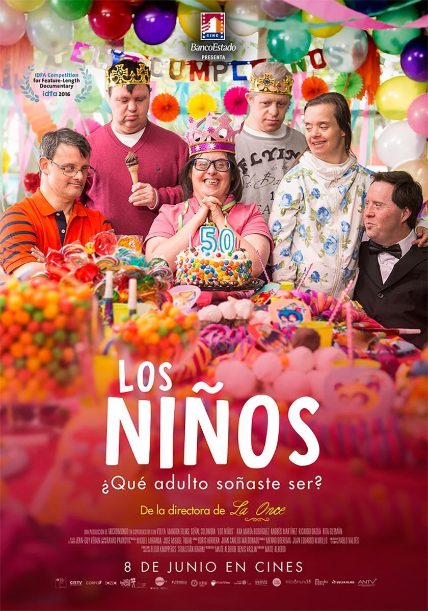 """CICLO DE CINE: ESTRENOS DE CINE CHILENO """"Los niños, de Maite Alberdi (2016)"""""""