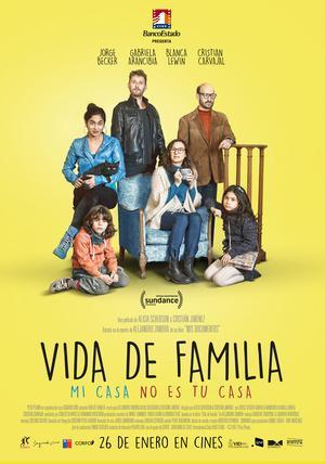 """CICLO DE CINE: ESTRENOS DE CINE CHILENO """"Vida de familia, de Alicia Scherson y Cristián Jiménez (2017)"""""""