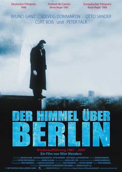 Ciclo de Cine – Películas de Mi Vida: El cielo sobre Berlín, de Win Wenders (Alemania, 1987)