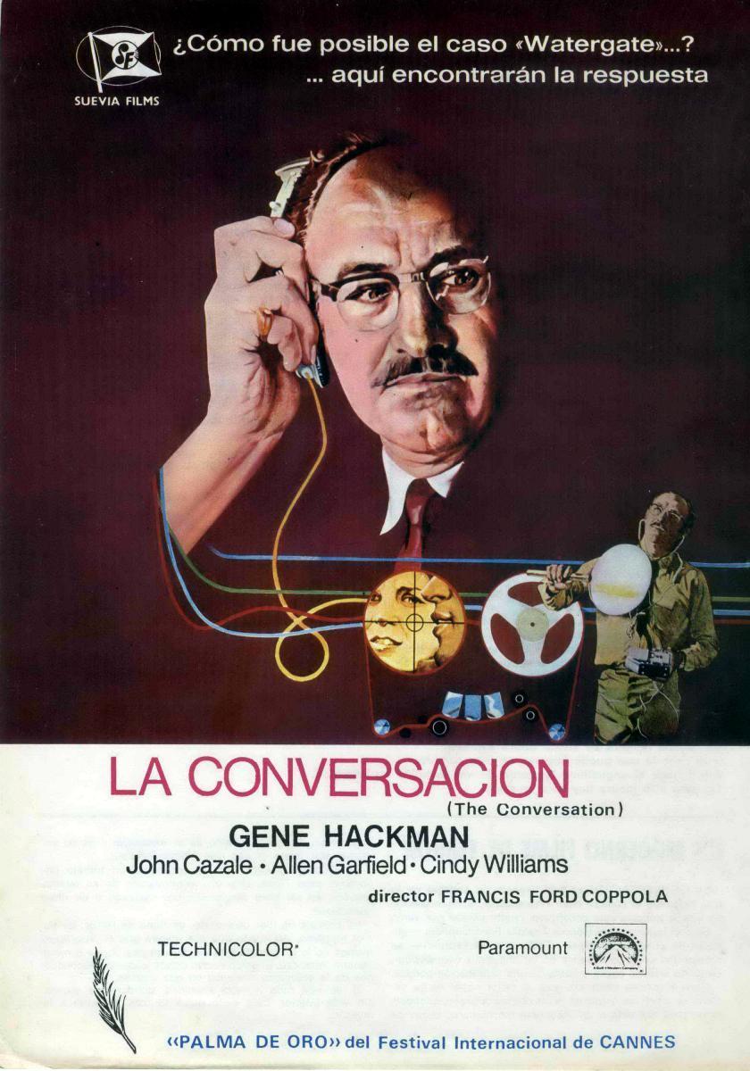 Ciclo de Cine – Películas de Mi Vida: La conversación, de Francis Ford Coppola (Estados Unidos, 1974)