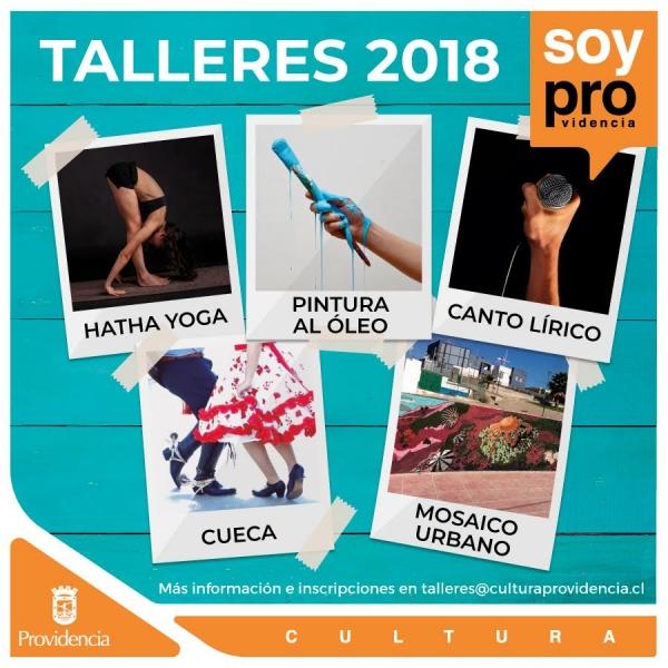 Talleres Culturales 2018