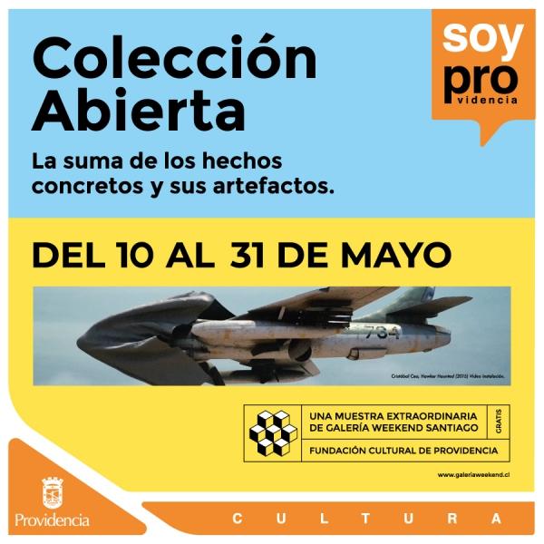 Exposición Colección Abierta de Galería Weekend Santiago