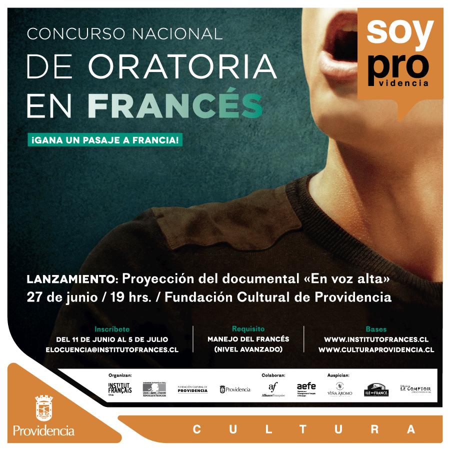 "Primer ""Concurso Nacional de Oratoria en Francés"""