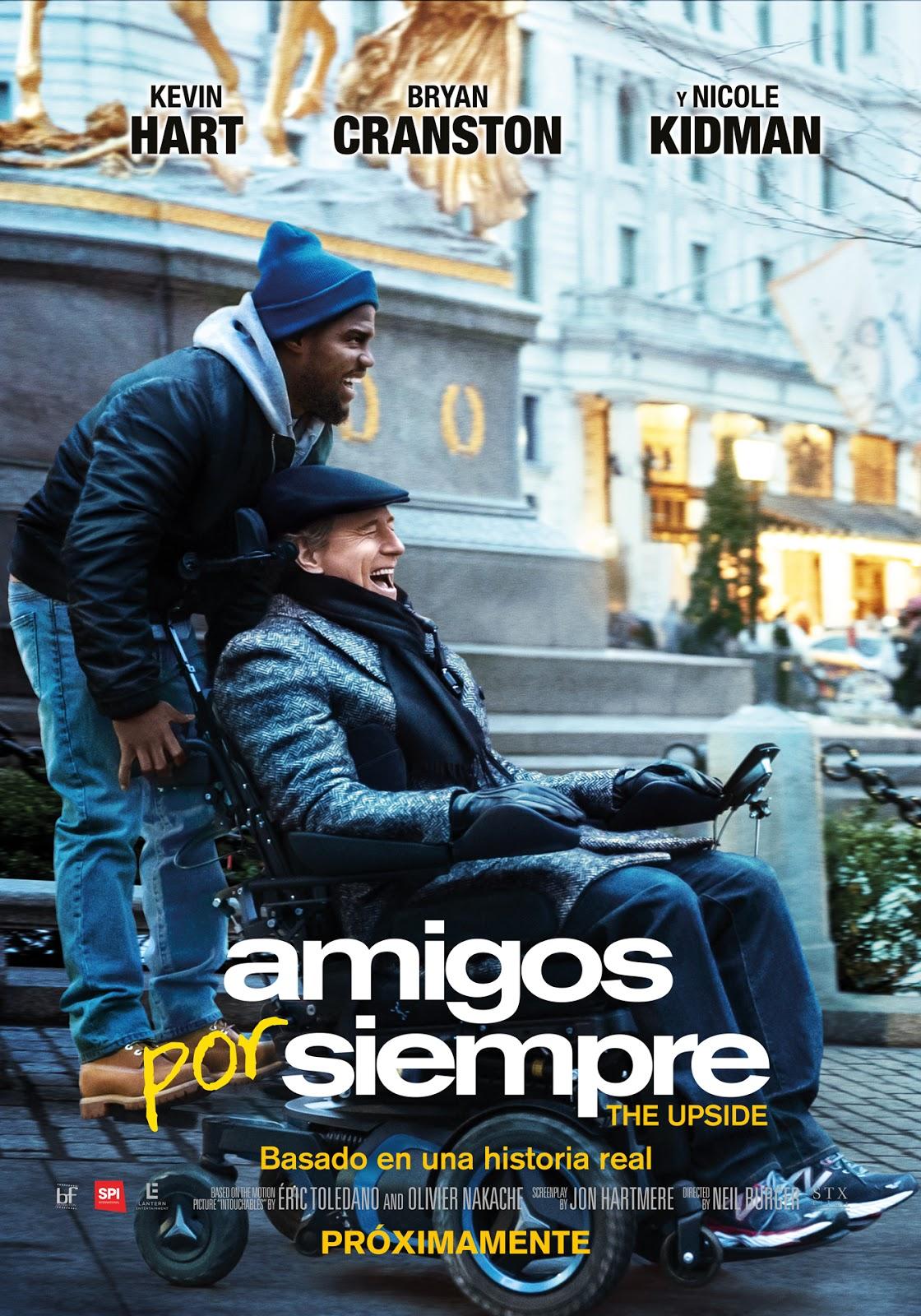 Noches de Cine: The upside (Amigos por siempre)
