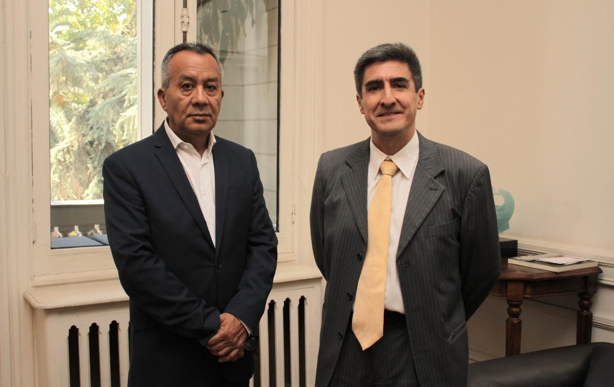 Manuel Ahumada y Alejandro Neyra