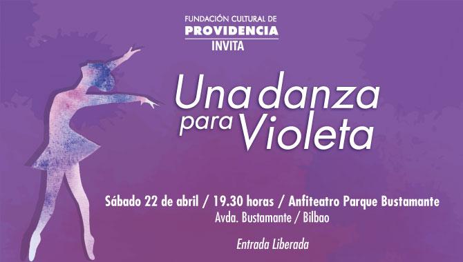 """Providencia presentará el espectáculo """"Una danza para Violeta"""""""