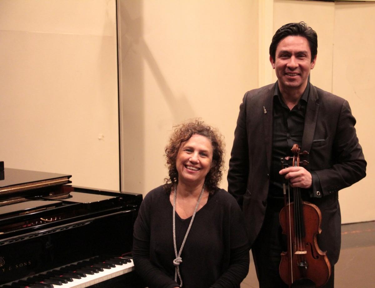 14 dúo violín y piano