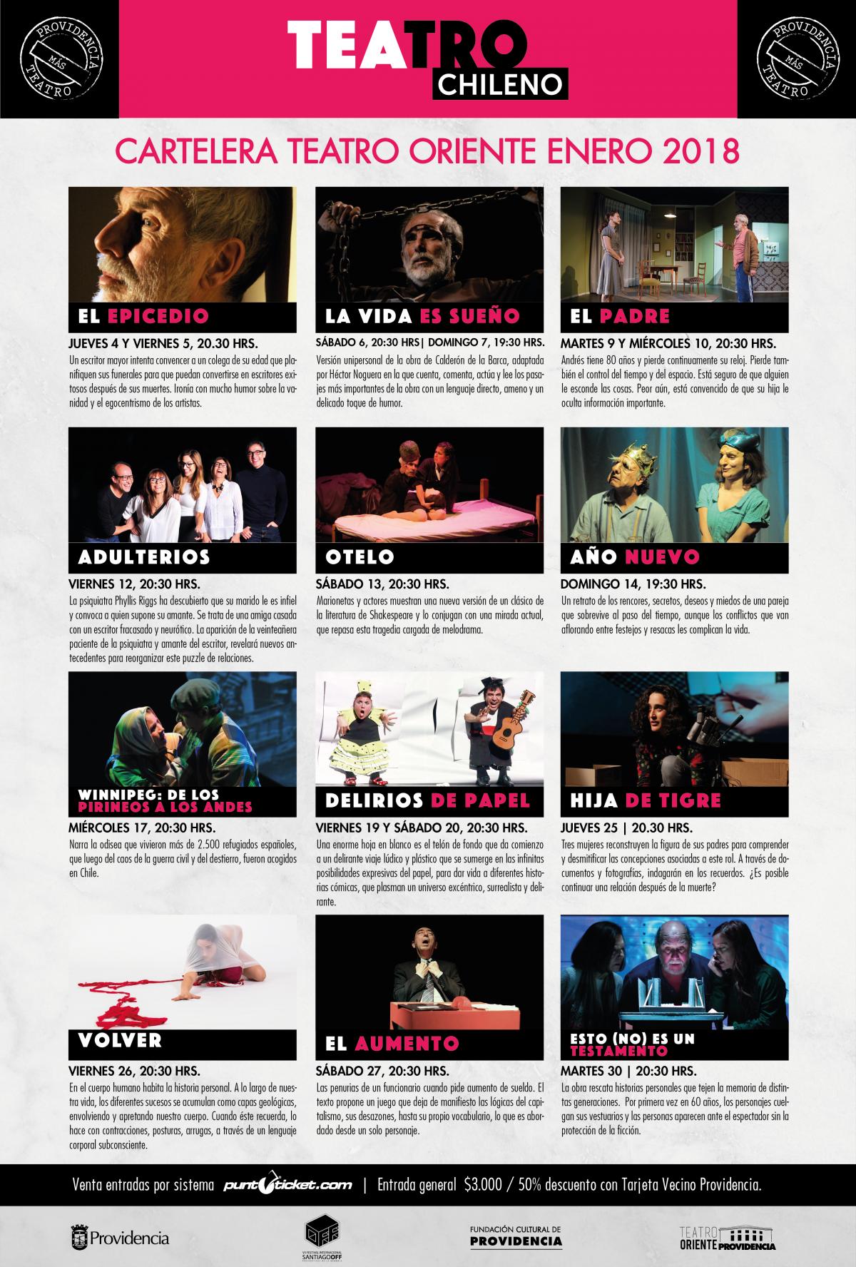 cartelera Teatro