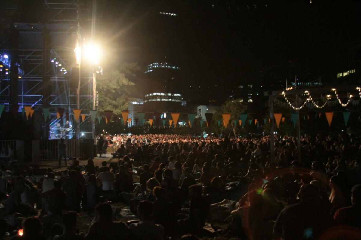 Comenzó el Festival de Jazz de Providencia