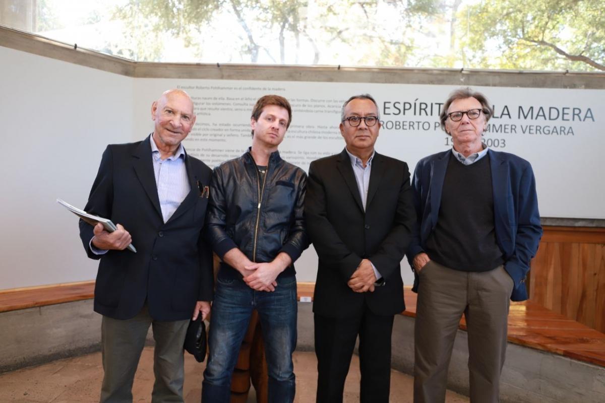 Exposición de Roberto Pohlhammer en el Parque de las Esculturas