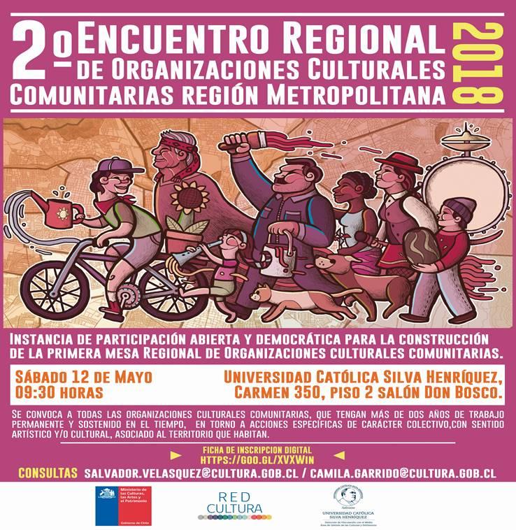 2do Encuentro Regional de Organizaciones Culturales Comunitarias