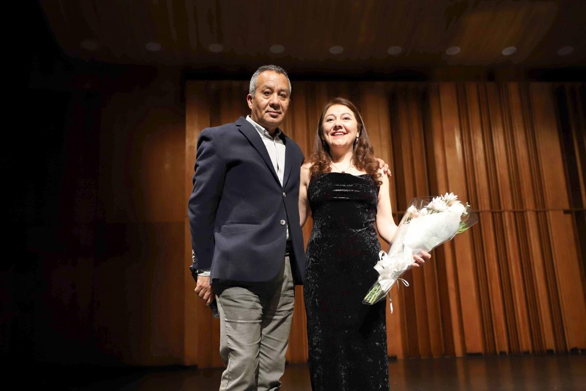 María Paz Santibáñez se presentó en el Teatro Oriente