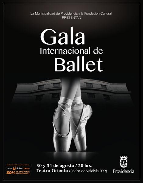 Providencia tendrá una nueva Gala Internacional de Ballet