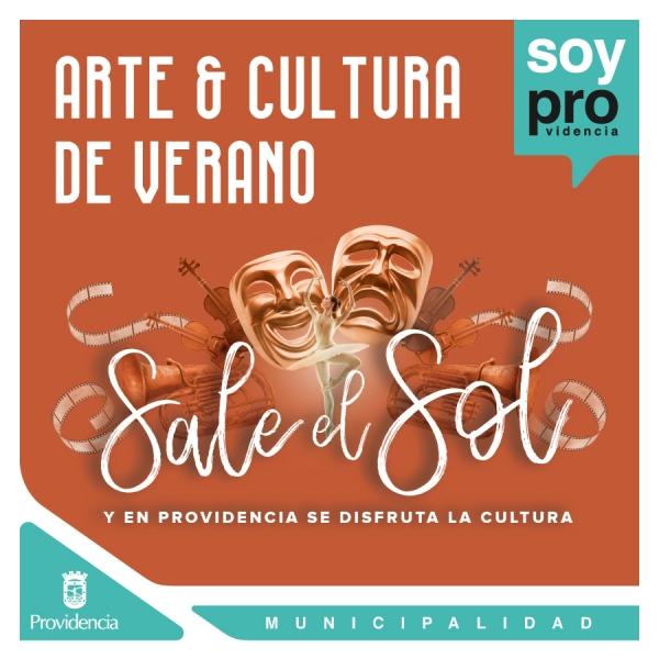 El arte y la cultura se disfrutan en Providencia