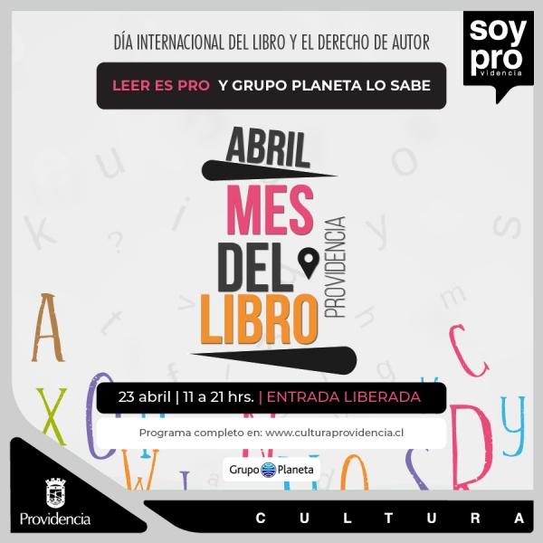 Providencia y Grupo Planeta Celebran el día del libro