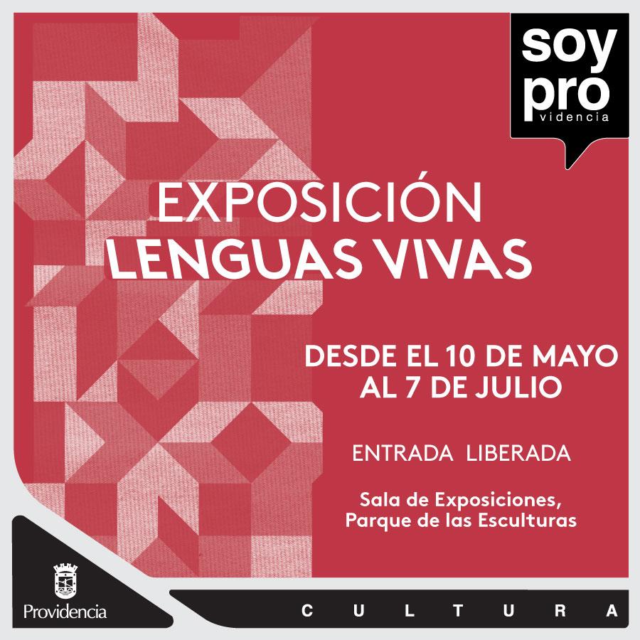 """""""Lenguas Vivas"""" exhibición de arte & textil"""