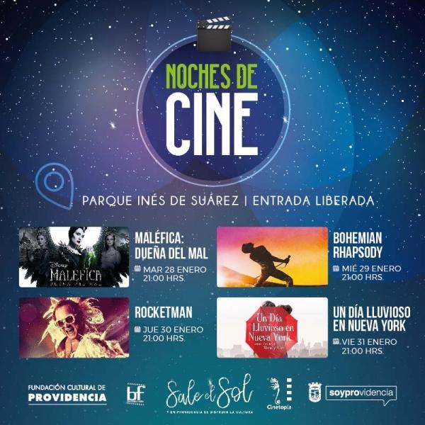 Noches de Cine en Providencia
