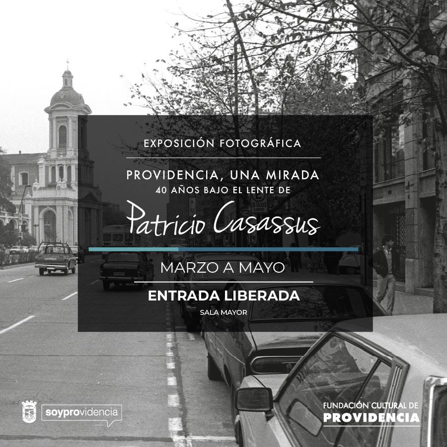 Providencia bajo el lente de Patricio Casassus