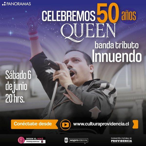 Concierto Tributo a los 50 años de Queen