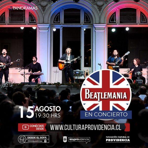 Concierto de Beatlemanía en Providencia