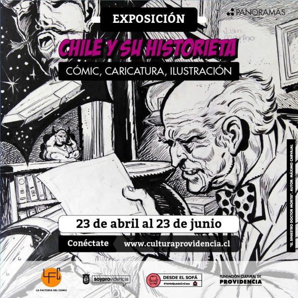 Chile y su historieta: cómic, caricatura, ilustración