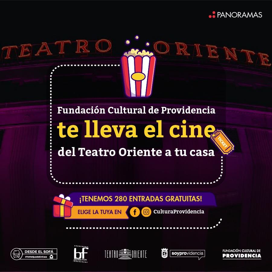 Ciclo de cine renueva programación virtual #DesdeElSofá