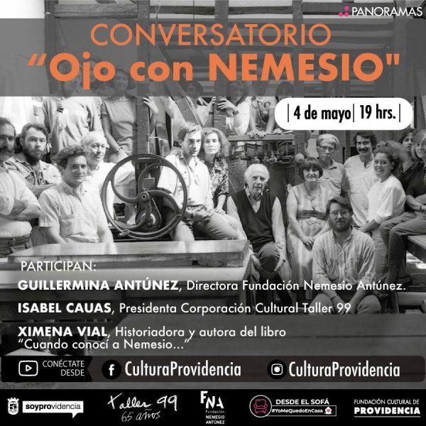 """""""Ojo con NEMESIO"""" conversatorio en torno a Nemesio Antúnez"""